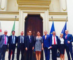 Casartigiani Sardegna Delegazione russa
